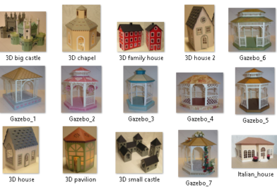Kit Digital Casas de Papel