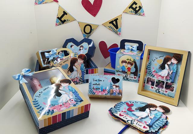 Kit Digital Dia dos Namorados