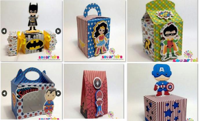 Kit Digital Os Vingadores Cute