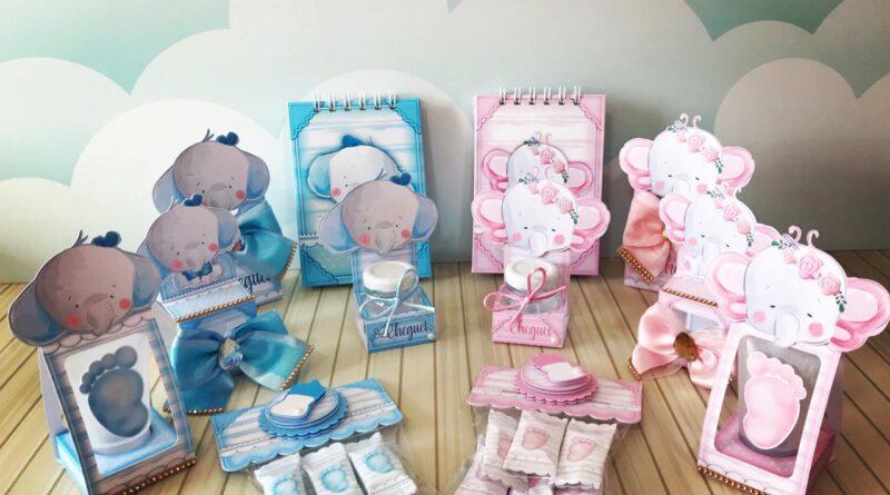 Kit Digital Lembranças de Maternidade