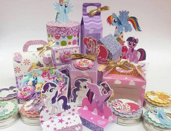 Kit Digital My Little Pony Glitter