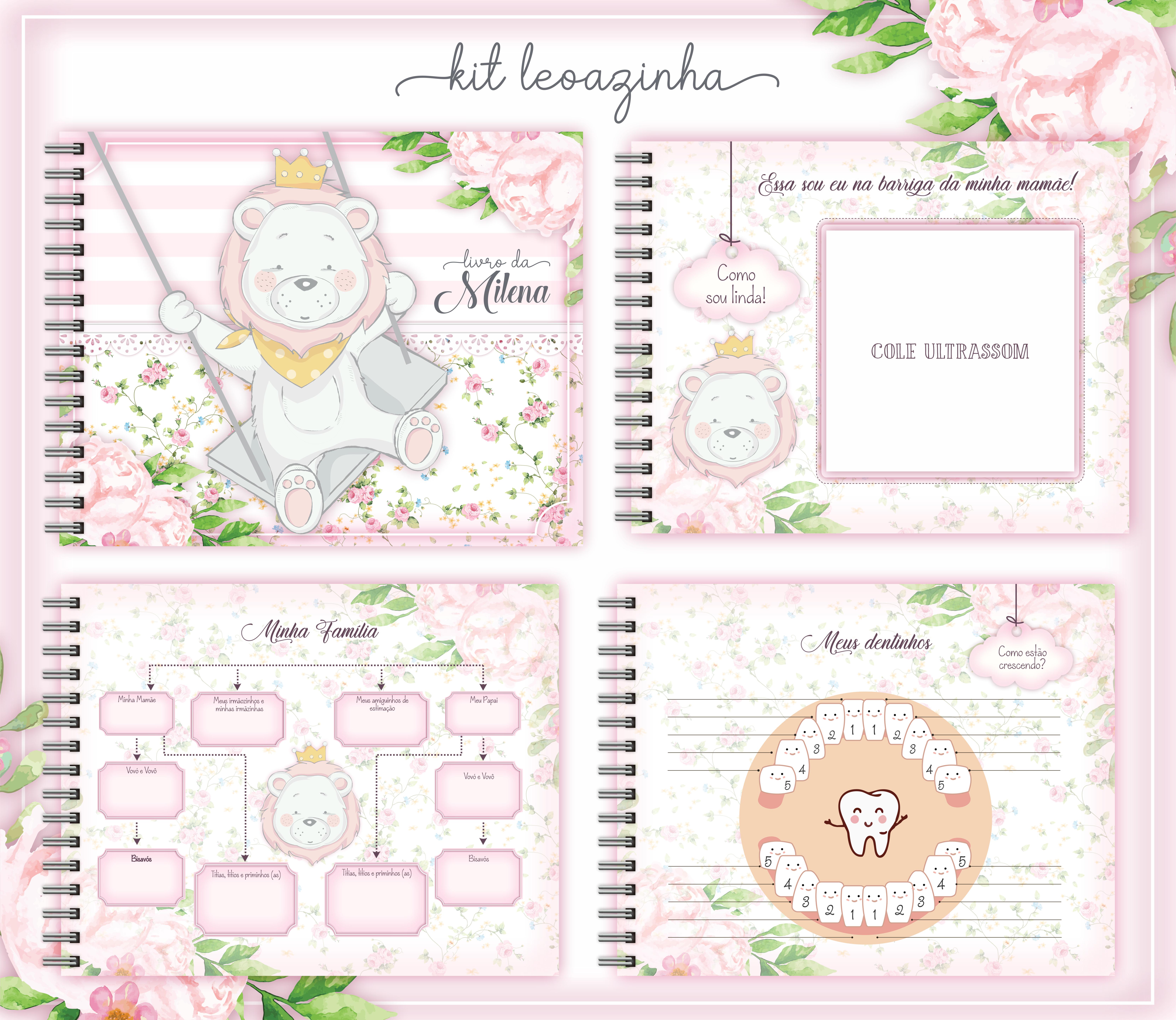 Livro do Bebê – Leoa