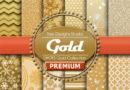 Kit Scrap Digital Gold/Ouro