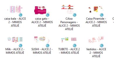 Kit Digital Alice no País das Maravilhas