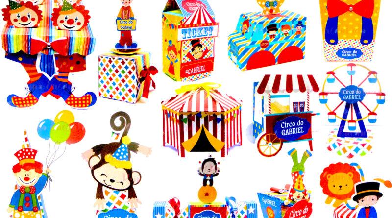 Kit Digital Circo Menino