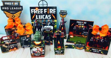 Kit Digital Festa Free Fire