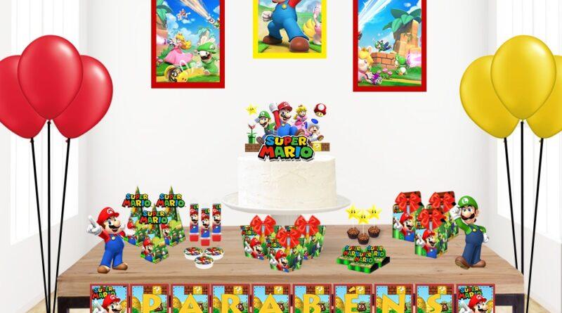 Kit Digital Festa Super Mario