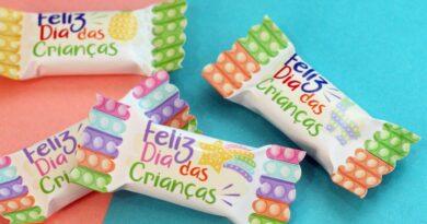 Kit Digital Bala Dia das  Crianças – PDF