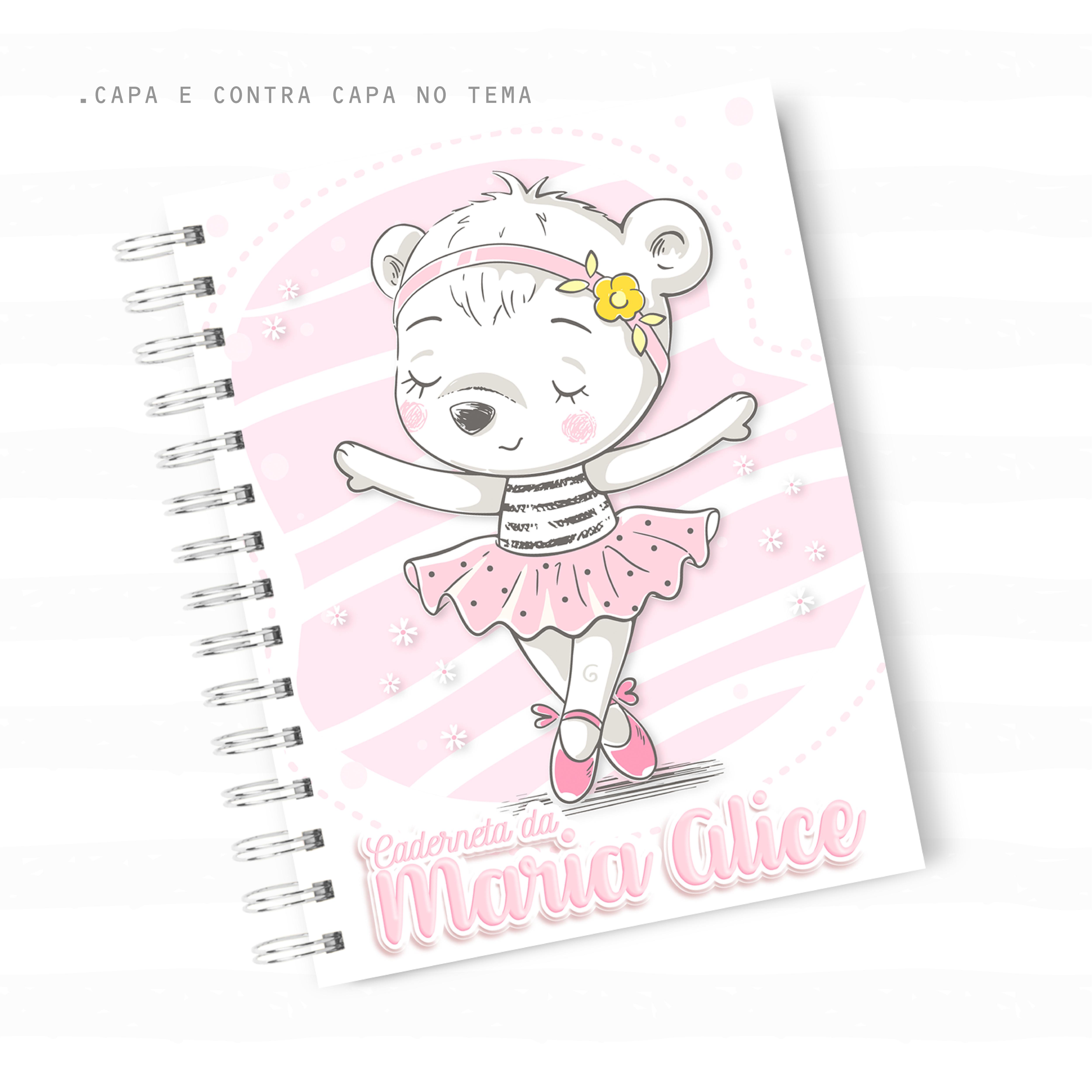 Caderneta de Vacina – Ursinha Bailarina