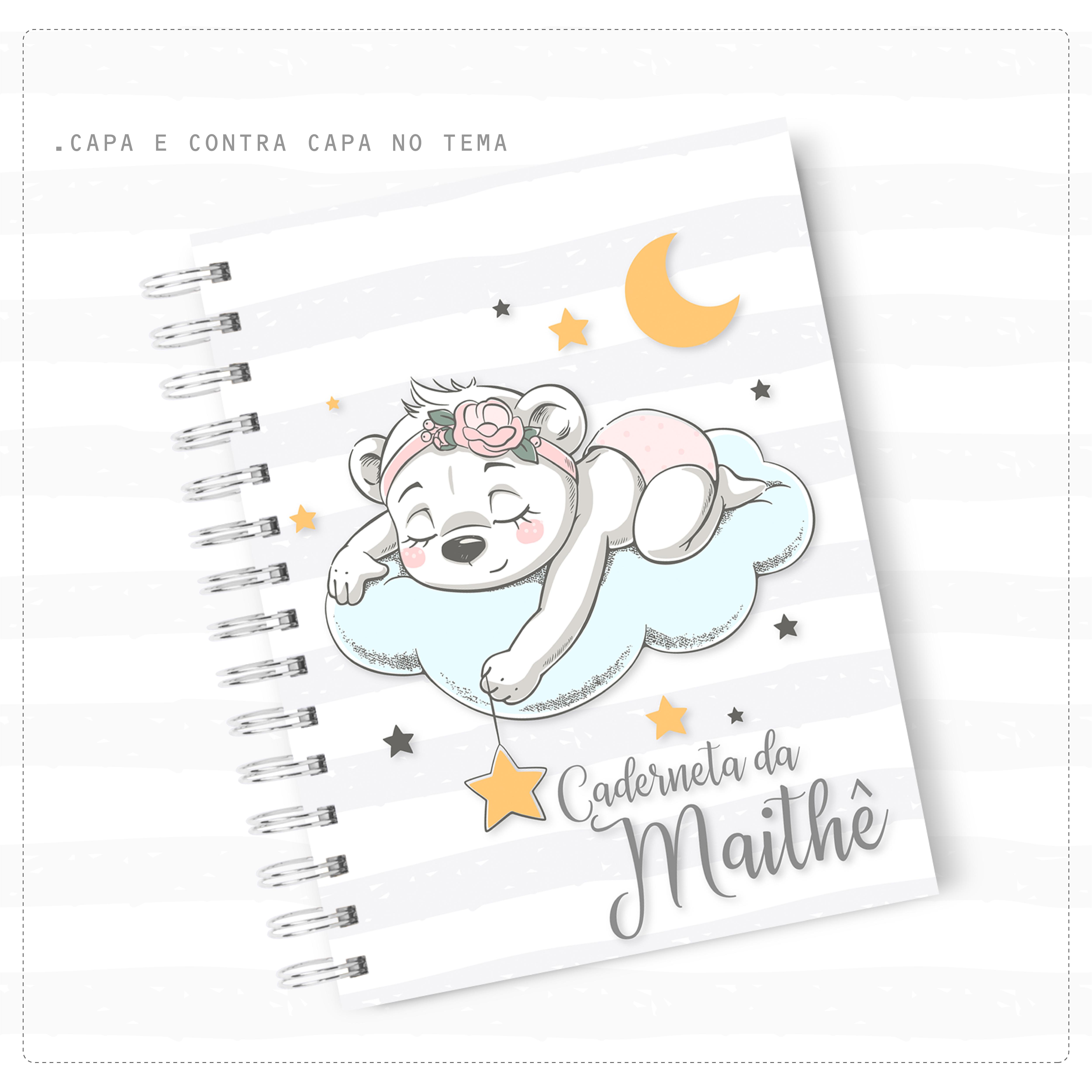 Caderneta de Vacina – Ursinha Rosa
