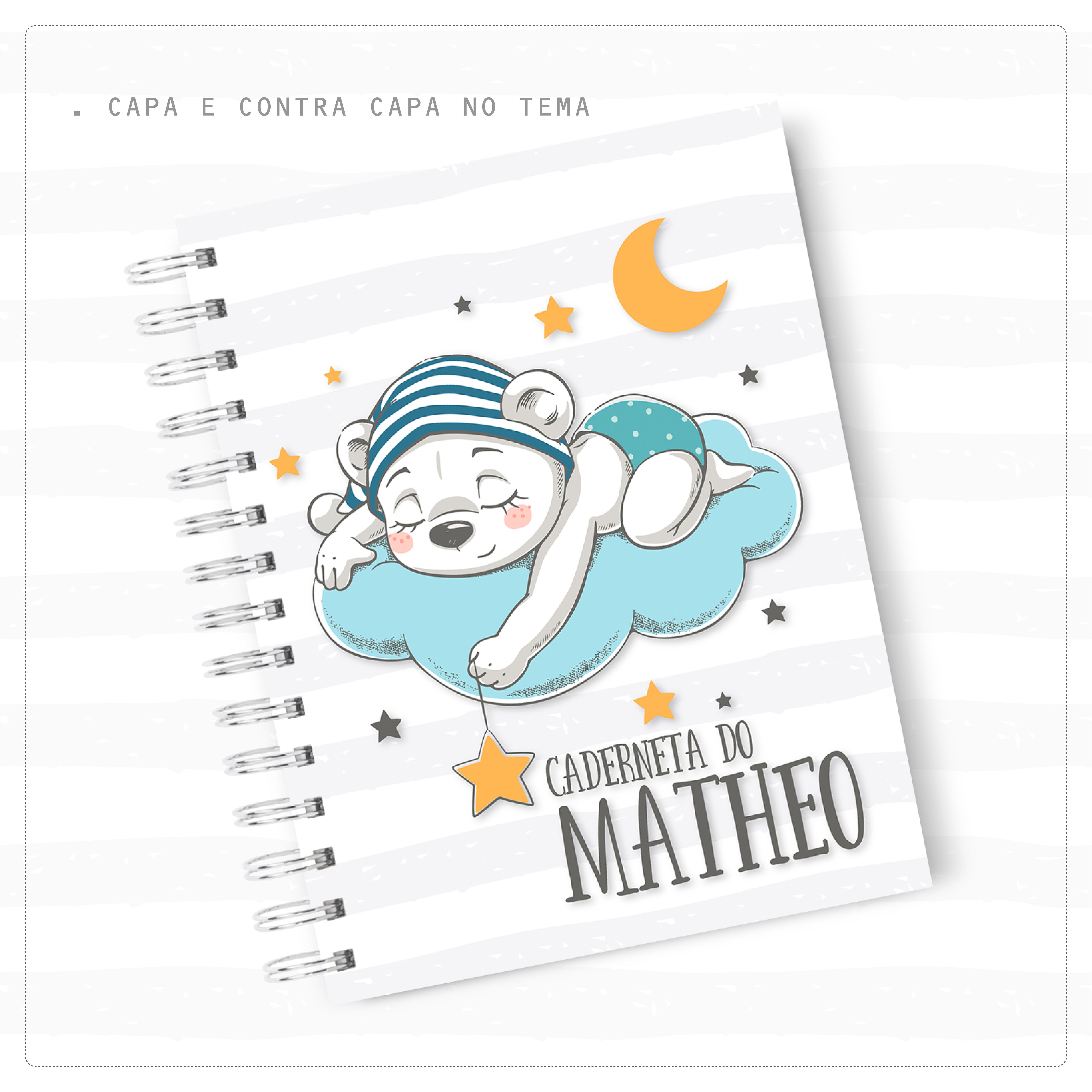 Caderneta de Vacina – Ursinho Azul
