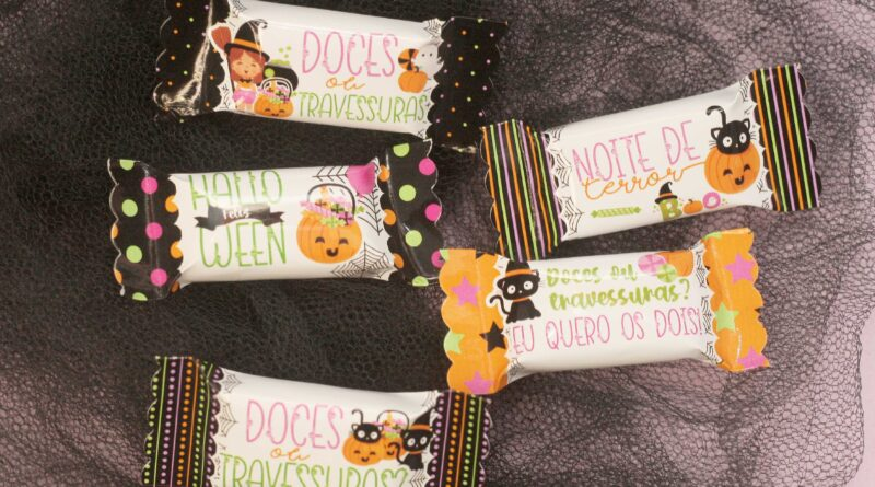 Kit Digital Balinha Halloween